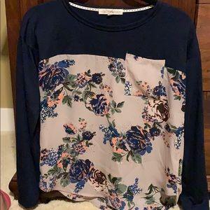 Rewind Long sleeve lightweight blouse